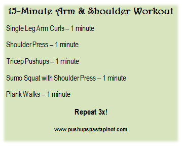 arm & shoulder workout