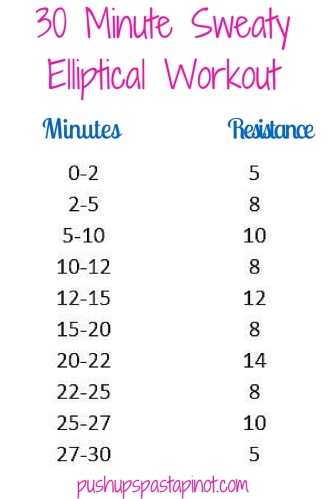 30 MInute Elliptical Workout