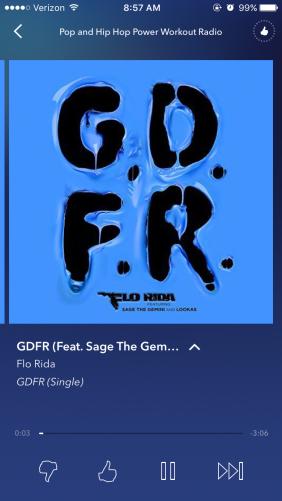 Pop and Hip Hop Power Workout Radio Pandora