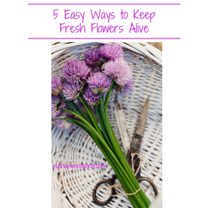 5 Ways to Keep Fresh Flowers Alive Longer