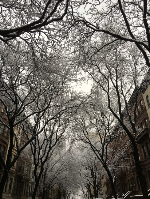 upper west side nyc snow